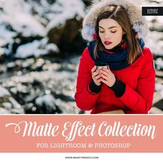 Matte Photoshop Actions Collection will give your photographs a beautiful, faded and stylish finish. Matte Photoshop Actions Collection has a long-awaited Color Photoshop, Photoshop Actions, Photoshop Filters, Free Photoshop, Professional Lightroom Presets, Photoshop Photography, Camera Raw, Design Trends, Vectors