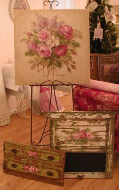 Chateau De Fleurs: Rustic Country For Christmas!