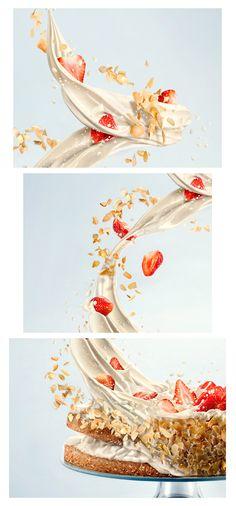 Gintarė Vadeikytė→Maxima cake  Advertising, Digital Photography, Retouching