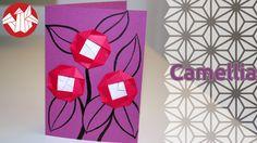 Origami  - Camellia - Camelia [Senbazuru]
