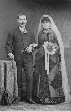 1870 Wedding Couple