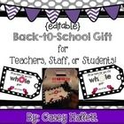 This FOREVER freebie is a cute & economical way to give a small back-to-school treat to any teachers, staff, students, etc to let them know tha...