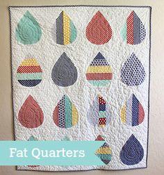 Moda Bake Shop: Baby Showers Quilt by LeAnne Ballard. Precut-friendly: Fat Quarters.