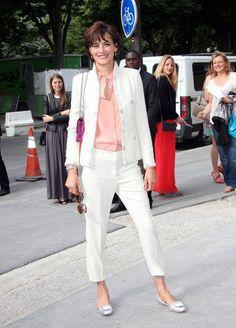 Ines de la Fressange Photo - Celebs at the Chanel Fashion Show in Paris
