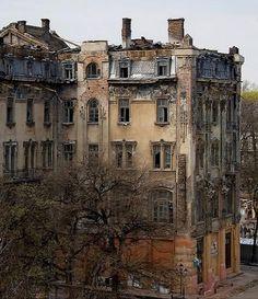 """""""Bolshaya Moskovskaya"""" hotel  in Odessa   by Heiko Klotz"""
