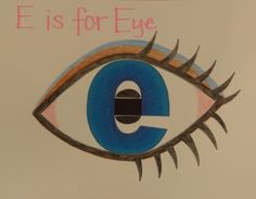 E is for Eye, Elf, Egg, Elephant