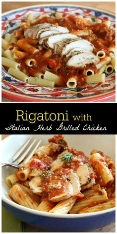 Rigatoni with Italia