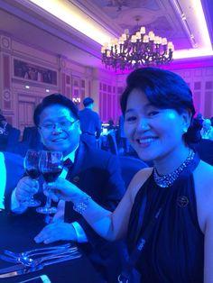 My Mento Kim Se Woo & Nam Jinny. I met 10 years ago. from Macao Director Night.