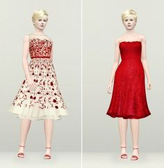 """My Sims 3 Blog: Red Perfume by Rusty Nail    I actually """"ooh'ed"""" out loud at this!"""
