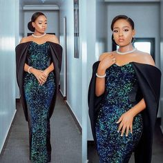 Latest Aso Ebi Styles - Styles} - Latest Aso Ebi Styles for Ladies to Slay in Weddings Nigerian Lace Styles Dress, African Lace Styles, African Lace Dresses, African Fashion Dresses, African Style, African Beauty, Gala Dresses, Evening Dresses, Dinner Gowns