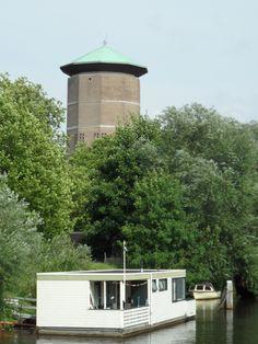 Zwolle  De watertoren op de turfmarkt.