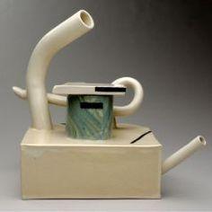 Teapot PETER SHIRE (AMERICAN, b. 1947) 1976