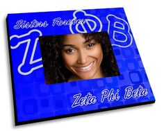 Amazon.com: Zeta Phi Beta Mascot Color Picture Frame: Home & Kitchen