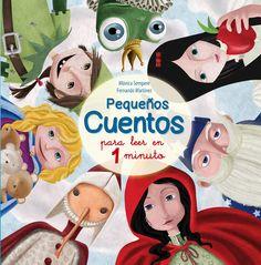 ¿Tes un minuto? Entón tes un conto. Neste libro descubrirás a Cincenta, Carapuchiña, Alicia ou Blancaneves. E tamén hai princesas, chícharos, flautistas, patiños, emperadores,... Se tes un minuto, tes un conto para ler e soñar.