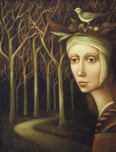 Midnight Forest by Alla Tsank
