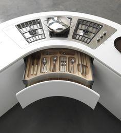 Descarga el catálogo y solicita al fabricante Artika   cocina con península By pedini, cocina lacada con península, Colección artika