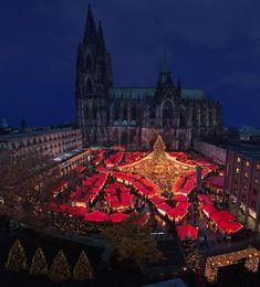 El mercado de navidad de Colonia #Alemania
