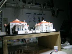 LA ROTONDA, Villa Almerico Capra, scale model 1:200