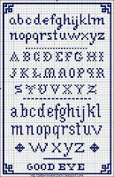 Sajou No 105 small alphabet sampler cross stitch