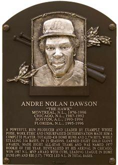 Dawson, Andre | Baseball Hall of Fame