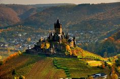 Burg Cochem im Herbst #Germany #Castle