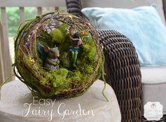 Easy Fairy Garden wi