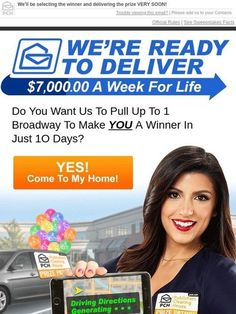 Pch 1 Million Exclusive Vip I sure do. My address is Brenda Avery 70 Church St apt Hodges Alabama. I'll leave the light on. Instant Win Sweepstakes, Online Sweepstakes, Wedding Sweepstakes, Travel Sweepstakes, Pch Dream Home, Lotto Winning Numbers, Lotto Numbers, 2019 Ford Explorer, Padron