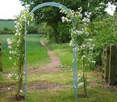 We have been making bespoke garden rose arches for years, but due to popular demand we have added some standard arches to our collection. The Ironart Classic Rose Arch is made from solid bar mild s...