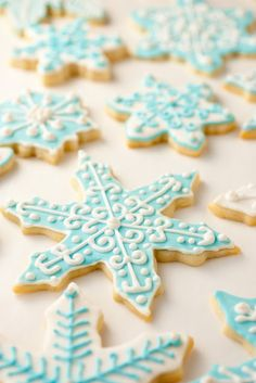 Iced Sugar Cookies with almond extract and royal icing for decorating- Cooking Classy