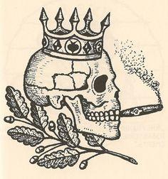 Fedeli alla Linea, Russian Criminal Tattoo Article teschio