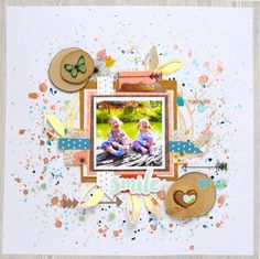 Smile using lots of Heidi Swapp by tillyandarthur