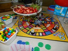 """""""Board game themed party (We recommend Name 5, Flippin' Out, Encore and Oddly Obvious!"""""""