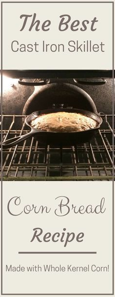 Want to make cornbread, but you are out of cornmeal?? Use this recipe for moist & delicious skillet cornbread with no cornmeal! You won't regret it!