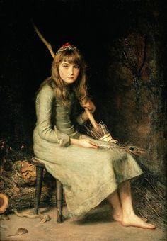 'Cinderella' by John Everett Millais