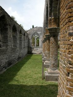 Unfinished Church - St. George's, Bermuda - Photo