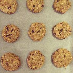 Quinoa & Papaya Choc Chip vegan gluten free cookies