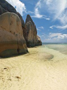 Anse Source d`Argent - La Digue Island - Seychelles