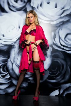 #lingerie #pink #purple #De Chelles