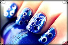 Tes Did It Nails: 31 Day Challenge : Day 5 : Blue Nails