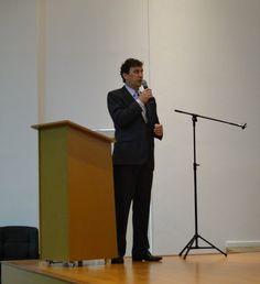 CEO do Redimob, Alessandro Stüpp na abertura do evento - Corretor Global e o mercado regional