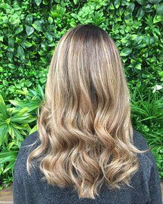 Empress Hair Bridgeman Downs - Monique - Balayage Blonde Brunette Curls Medium
