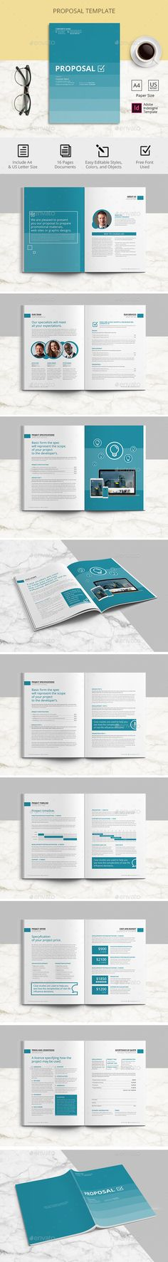 <center>PROPOSAL Creative and modern proposal template</center>Editable Indesign files (. Invoice Design Template, Stationery Templates, Indesign Templates, Graphic Design Templates, Newsletter Templates, Stationery Design, Brochure Design, Brochure Template, Brochure Ideas