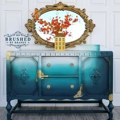 Here is my piece! I filmed a full start to finish tutorial, including full materials list that will be available in her group! I've had the privilege of being a member of the #paintedfurniture