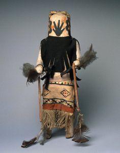 Brooklyn Museum: Arts of the Americas: Kachina Doll (Anahoho)