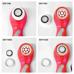 PRO Tip: To deep clean the area around the nose, pop out the outer ring from your Clarisonic brush head, leaving just the center bristles. #Sephora