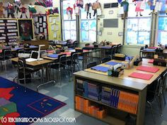33 ideas for science classroom arrangement desks Classroom Desk, Classroom Layout, 5th Grade Classroom, Classroom Organisation, Classroom Setting, Science Classroom, School Classroom, Classroom Management, Classroom Themes