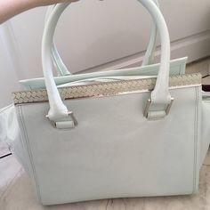38a8590c5874 Genuine turquoise Ted Baker handbag👜 spacious floral inside - Depop Ted  Baker Handbag