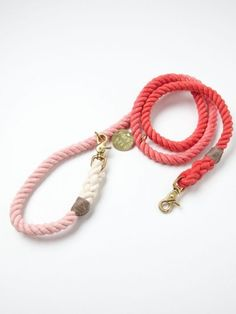 Free People Overdyed Rope Leash//