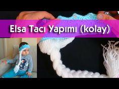 Elsa Tacı Nasıl Örülür? Örgü İle yapay saç yapımı (KOLAY) - YouTube