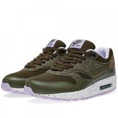 Nike Air Max 1 Dames/Heren Unisex Donker Loden/Medium Olive Schoenen